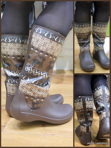 クロックス 暖かい長靴