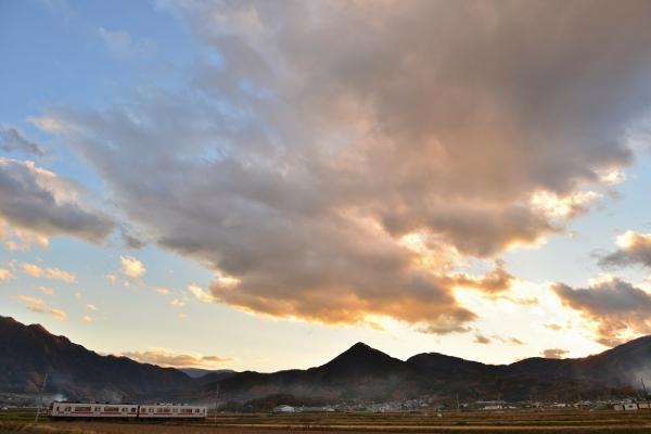 2013年11月21日 上田電鉄別所線 八木沢~舞田 1000系1001F