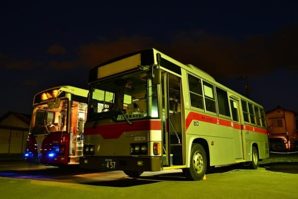 2013年11月21日 上田バス西丸子線 H-101・東塩田線 H-935