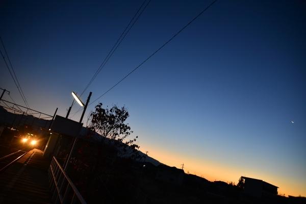 2013年12月01日 上田電鉄別所線 城下 1000系1004F