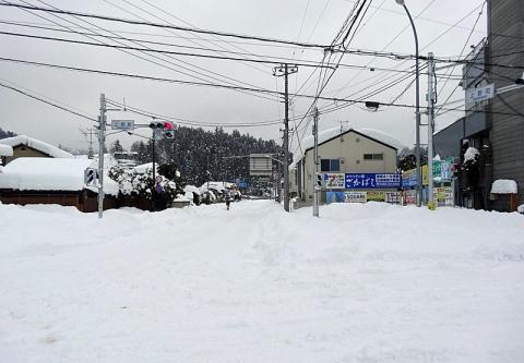 上野町交差点