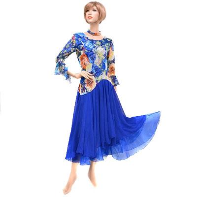 身頃メッシュとオーガンジースカート短めワンピースドレス