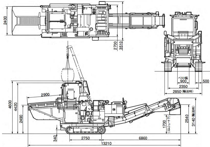 リテラ(BZ210-1)諸元表