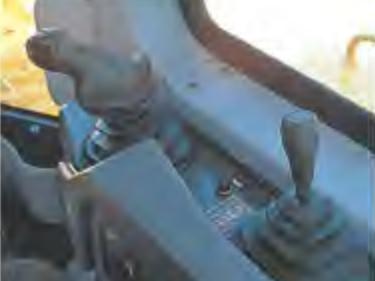 パームコマンドPPC制御作業機レバー