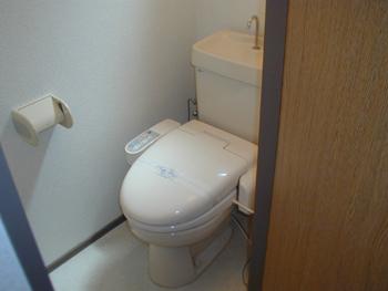 エスタブリッシュメント姪浜201号トイレ