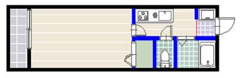 サンベルジュ 2号室