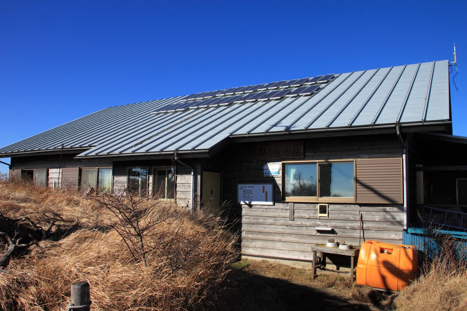 2013年11月30日 蛭ヶ岳山荘