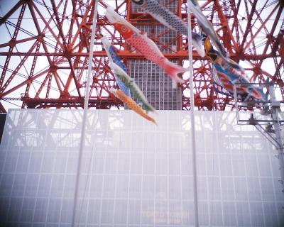 東京タワーと鯉のぼり:R2