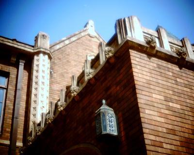 旧前田侯爵邸洋館と月:Entry