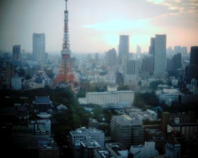 日暮れ時の東京タワー:Entry