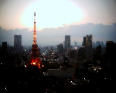 東京タワーに明かりが灯る:Entry