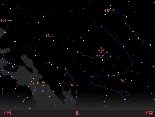 20141223 こぐま座流星群星図