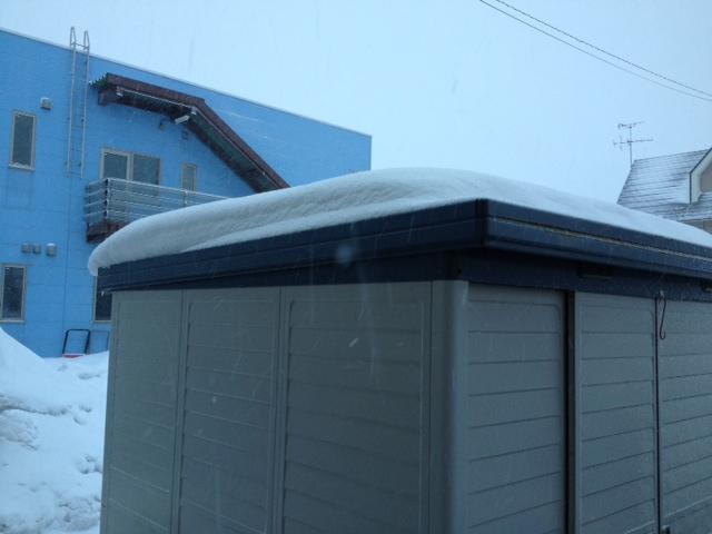 126屋根雪