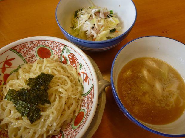醤油つけ麺(アサリ入り)