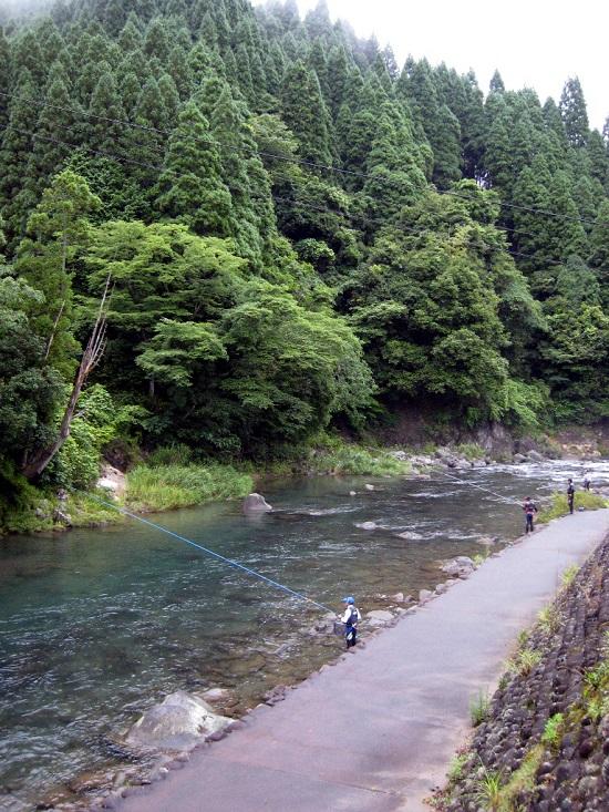 2013-6-29-鮎釣り風景-1a