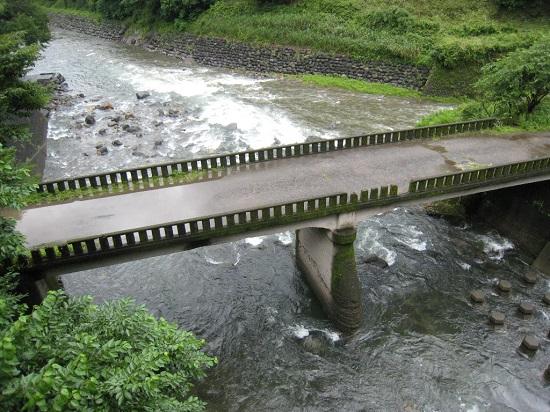 川原川、上野田川合流点