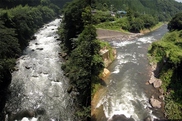 上野田川/上野田川・川原川合流点