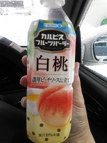 カルピスフルーツパーラー白桃