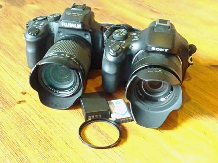 新旧カメラ2台