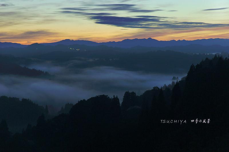 松之山 朝の風景 3
