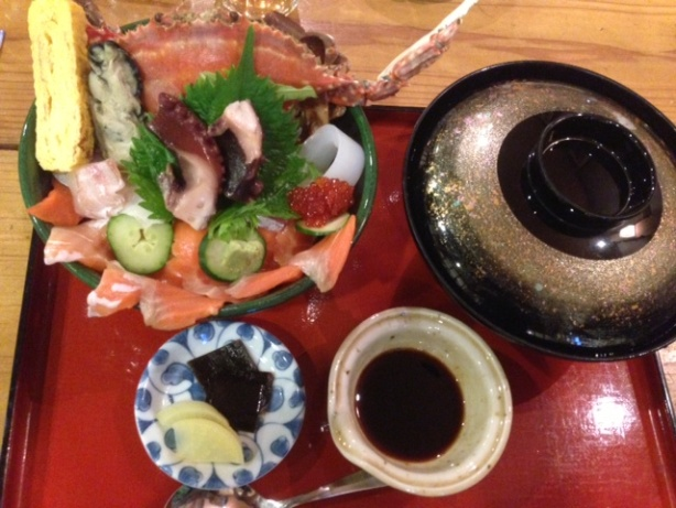 写真21-3海鮮こぼれ丼