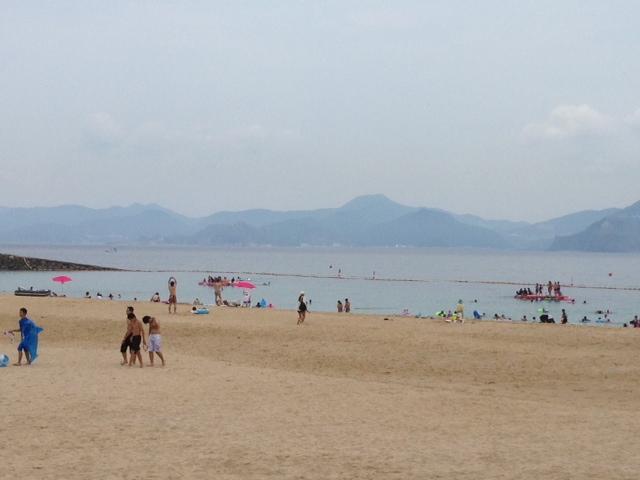写真21-7伊王島海水浴場