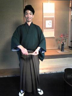 準師範のYutaさん
