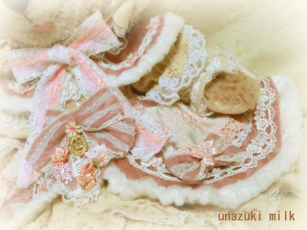 冬のシェリー姫,ドレスの装飾2
