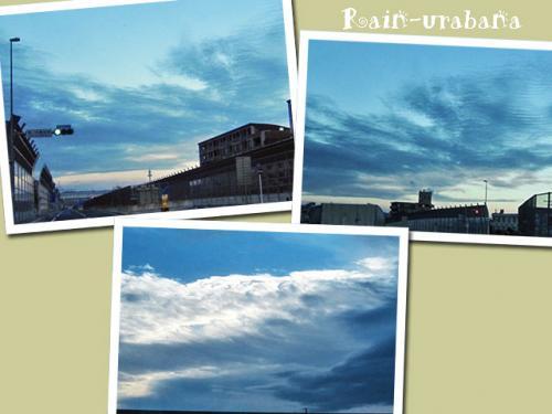 AM5時ごろの今朝の空です