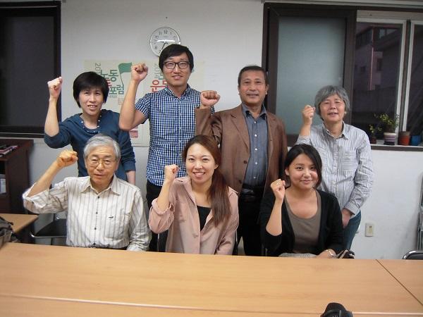 韓国労組訪問
