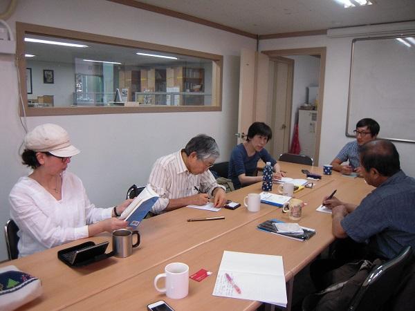 韓国労組訪問2