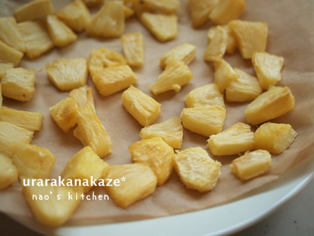 手作り 半生ドライのパイナップル