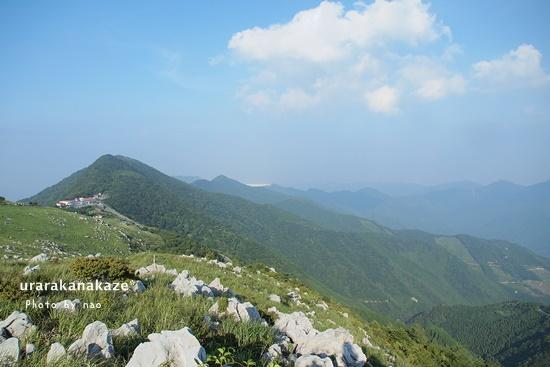 四国カルストからの風景