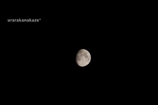 月 ペンタックスK-30、高倍率ズームレンズで撮影