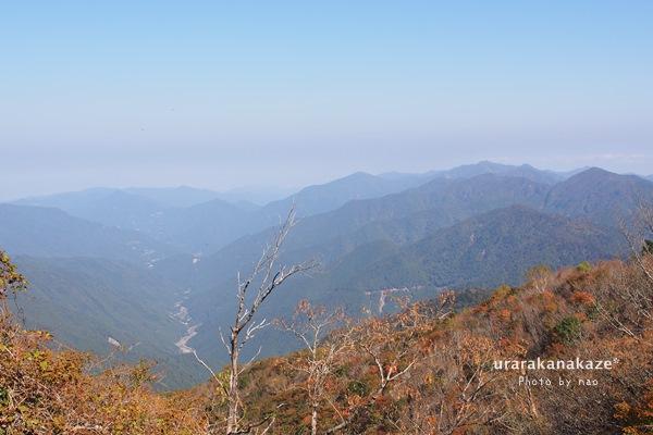剣山からの風景