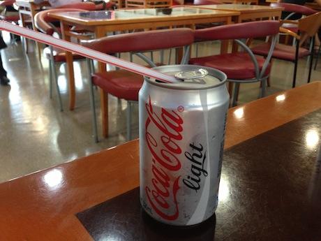 コーラが高い!