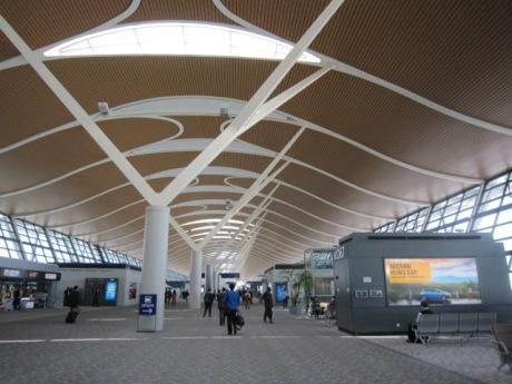 仁川空港へ向けて