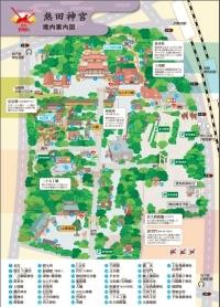 熱田神宮 境内案内図