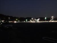 5:53 駐車場B2 ~左の車が私達。