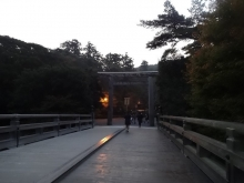 6:13 宇治橋 内側の鳥居
