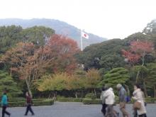 7:11 神苑広場から見る日の丸が美しいらしいです(^^ゞ