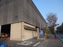 7:35 こちらは神宮会館の駐車場