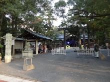7:44 猿田彦神社 鳥居