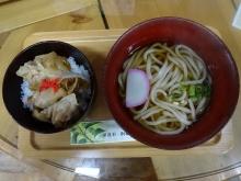 12:06 豚生姜焼き丼+うどん 700円
