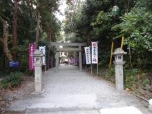14:41 石神神社に到着