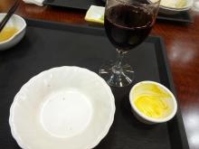 20:46 私 ワイン カボチャプリン、ミニケーキ2個^_^;
