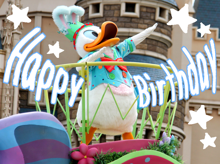 HappyBirthDay! Donald