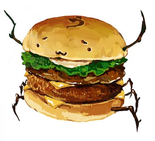 食:バーガー03