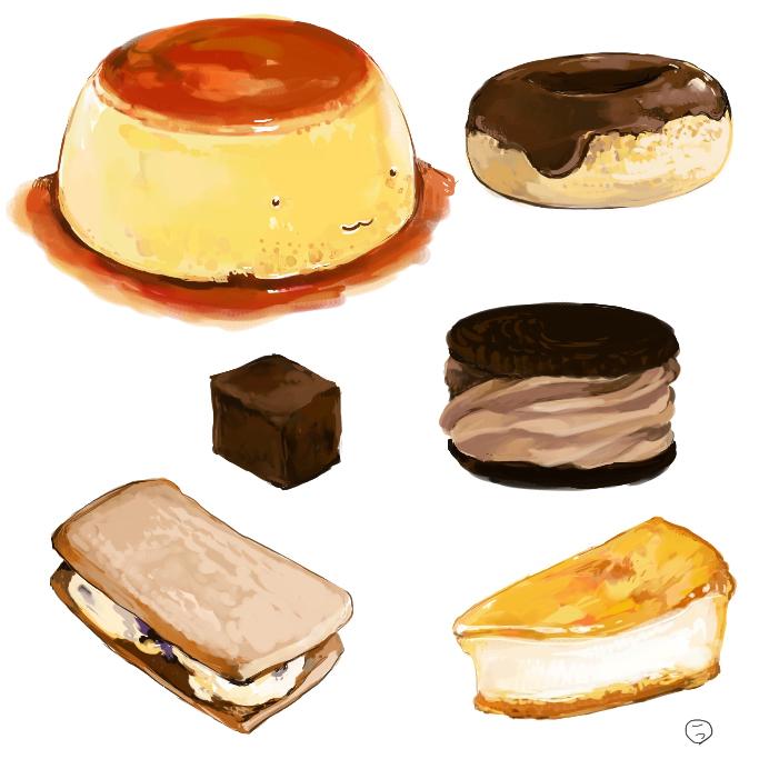 食:デザート色々