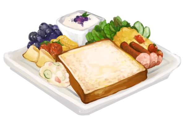 食:朝ごはん